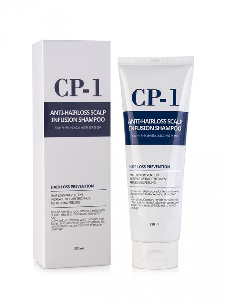 Шампунь для волос Esthetic House CP-1 Anti-Hair Loss Scalp Infusion Shampoo