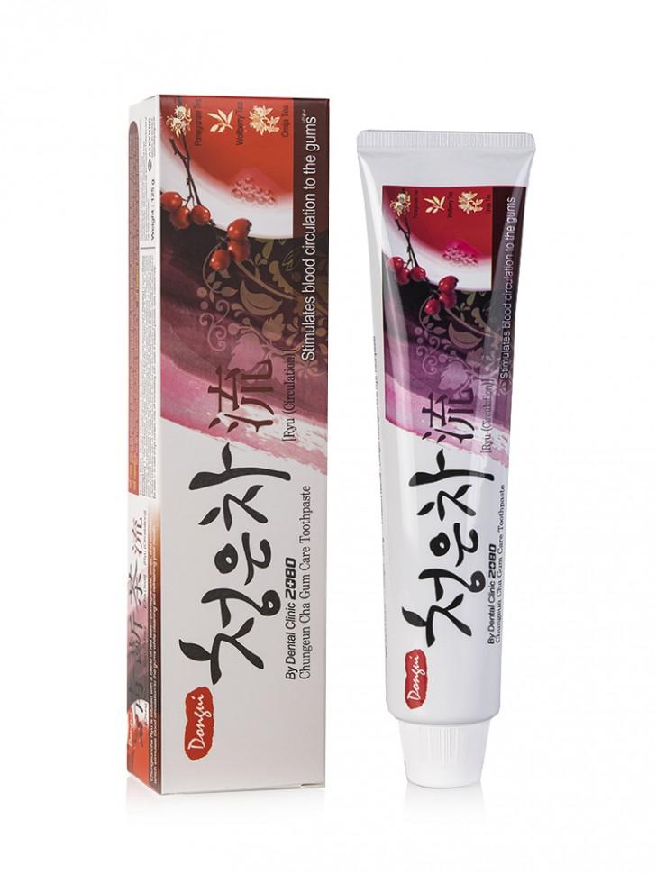 Зубная паста KeraSys Dental Clinic 2080 Cheong-En-Cha Ryu Toothpaste
