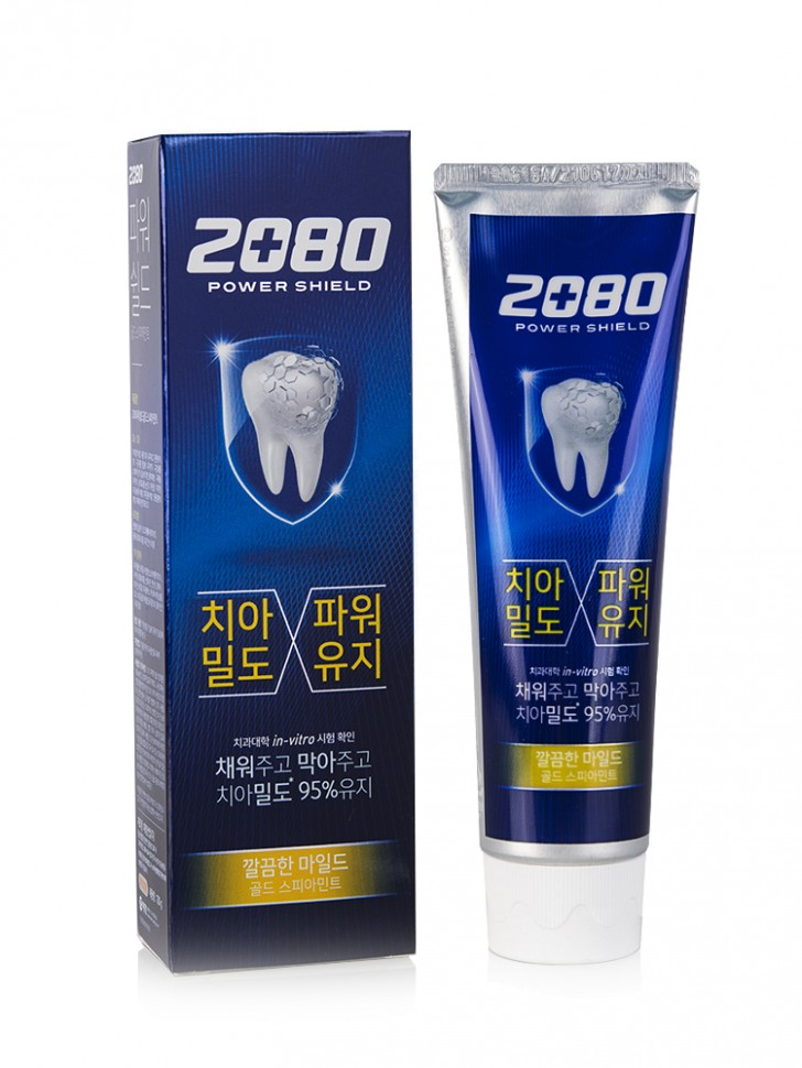 Зубная паста KeraSys Dental Clinic 2080 Power Shield Gold Spearmint