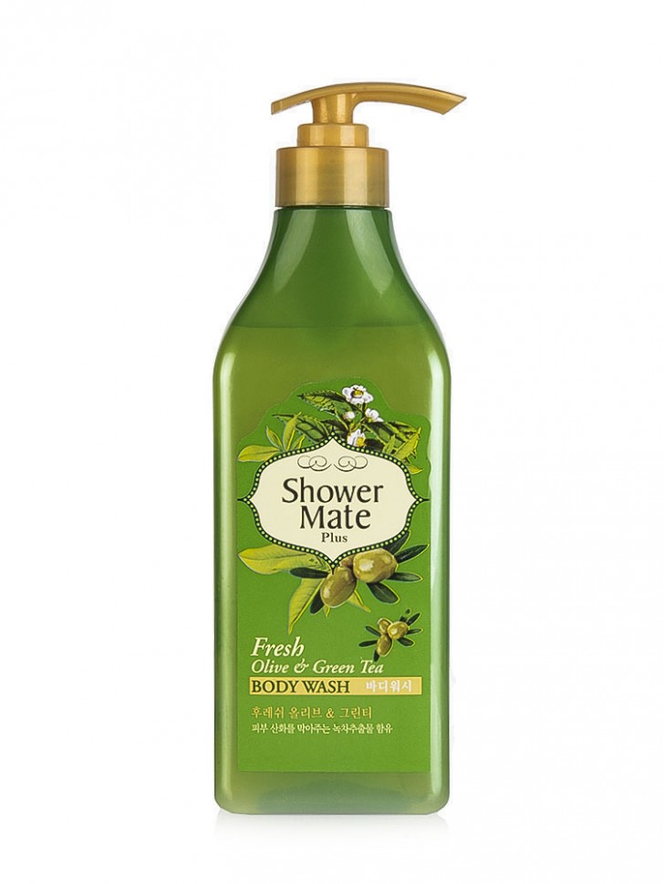 Гель для душа KeraSys Shower Mate Plus Body Wash Olive & Green Tea