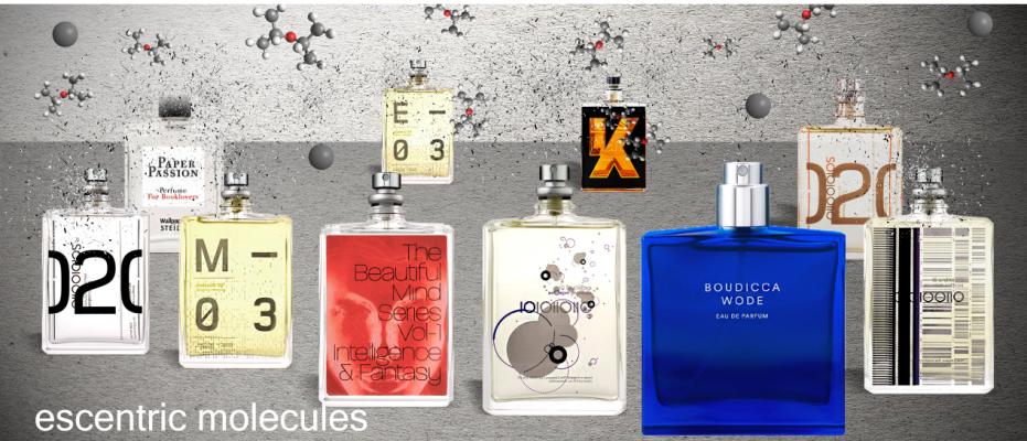 Каталог парфюмерии Escenric Molecules