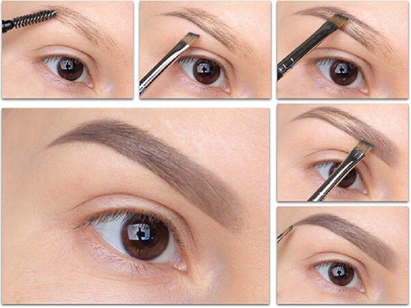 Как правильно красить брови тенями: пошаговые секреты 4