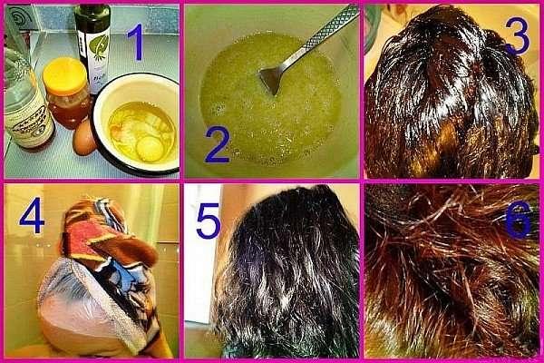 Как укрепить волосы от выпадения - рецепт маски