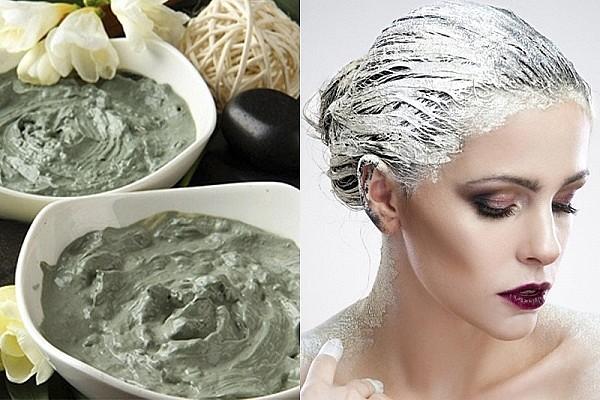 Как укрепить волосы от выпадения глиной
