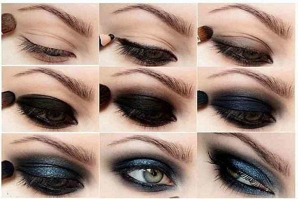 Как сделать макияж смоки айс на зеленых глазах