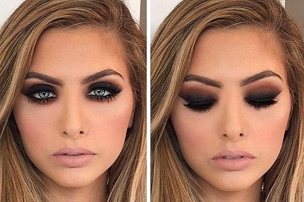 Как сделать макияж смоки айс 1