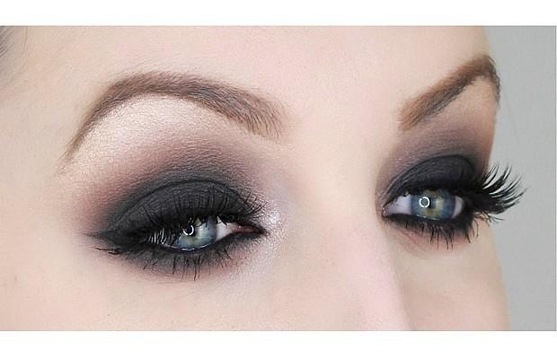 Как сделать макияж смоки айс пример на глазах