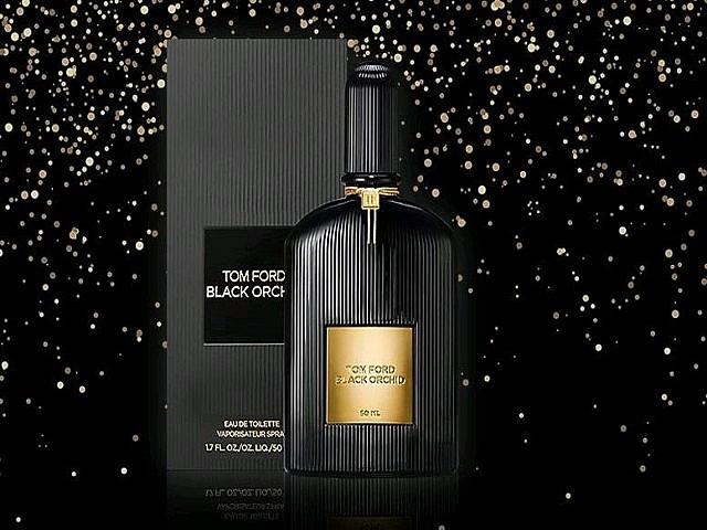 Однотонный флакон Чёрной розы-перый представитель коллекции ароматов от Тома Форда