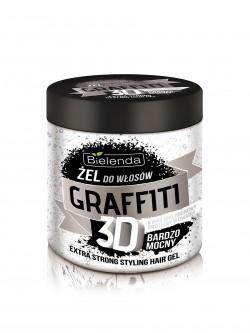 Гель для волос Bielenda Graffiti 3D Гиалуроновая кислота