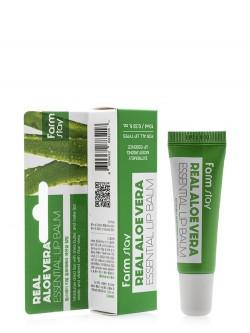 Бальзам для губ FarmStay Real Aloe Vera Essential Lip Balm
