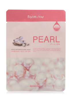 Маска для лица FarmStay Pearl Visible Difference Mask Sheet