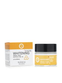 Крем для лица Ye Gam Top WHITENING Ampule Cream отбеливающий