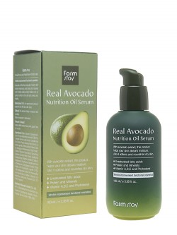 Сыворотка для лица FarmStay Real Avocado Nutrition Oil Serum