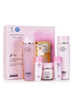 Набор 3W Clinic Flower Effect Extra Moisturizing Skin Care Set