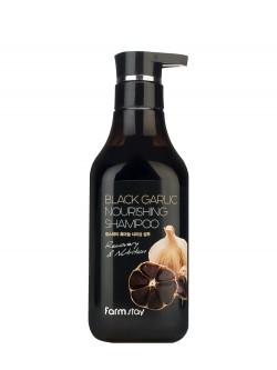 Шампунь для волос FarmStay Black Garlic Nourishing Shampoo