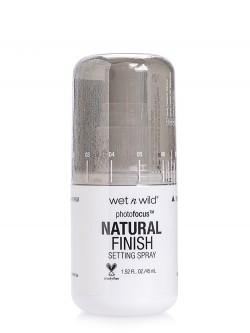 Спрей-фиксатор для макияжа Wet n Wild Photofocus Natural Finish Setting Spray
