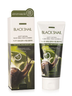 Пенка для лица Jigott Black Snail Natural Foam Cleansing