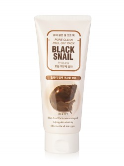 Jigott Black Snail Pure Clean Peel Of Pack Маска-пленка для лица