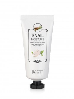 "Jigott ""Snail Moisture"" Foot Cream Крем для ног"