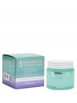 Крем для лица FarmStay 5 Hyaluronic Water Drop Cream