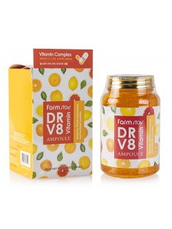 Сыворотка для лица FarmStay Dr.V8 Vitamin Ampoule