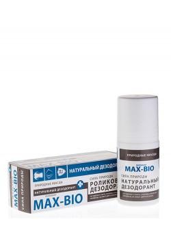 Дезодорант MAX-BIO кристалл «Сила природы»