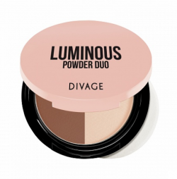 Пудра для лица Divage Luminous Powder Duo