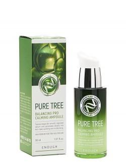 Сыворотка для лица Enough Pure Tree Balancing Pro Calming Ampoule