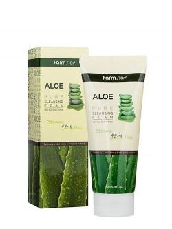 Пенка для умывания FarmStay Aloe Pure Cleansing Foam