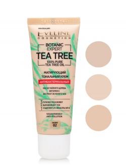 Тональный крем Eveline Botanic Expert Tea Tree 100% Pure Tea Tree Oil