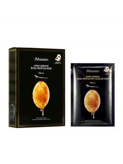 Маска для лица JMsolution Honey Luminous Royal Propolis Mask Black