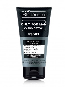 Bielenda Only For Men Carbo Detox Гель для лица