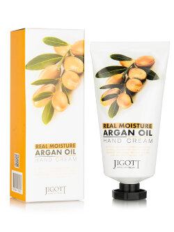 Крем для рук Jigott Real Moisture Argan Oil Hand Cream