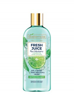 Мицеллярная вода Bielenda Fresh Juice Лайм
