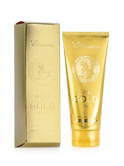 Пенка для лица Elizavecca 24K Gold Snail Cleansing Foam