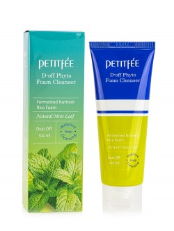 Пенка для лица Petitfee D-Off Phyto Foam Cleanser