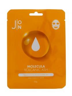 Маска для лица J:ON Molecula Volcanic Ash Daily Essence Mask