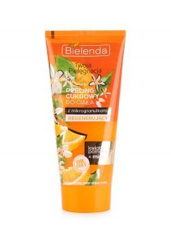 Сахарный скраб для тела Bielenda Personal Care Мёд и Апельсин