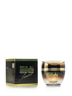 Крем для лица FarmStay Gold Snail Premium Cream