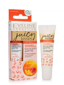 Бальзам для губ Eveline Juicy Kisses Lip Balm Mango Smoothie