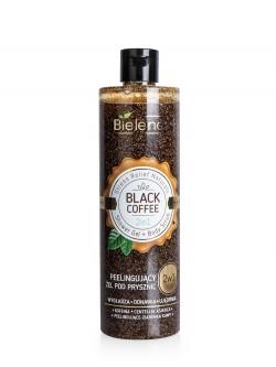 Гель-скраб для тела Bielenda Stress Relief Naturals Shower Gel + Body Scrub Black Coffee