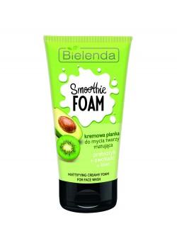 Пенка для умывания Bielenda Smoothie Foam Пребиотик + Авокадо + Киви