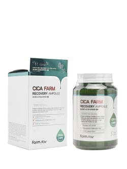 Сыворотка для лица FarmStay Cica Farm Recovery Ampoule