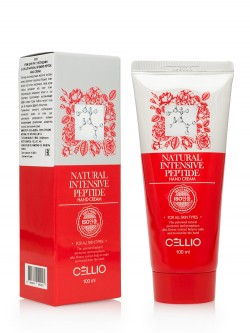 Крем для рук Cellio Natural Intensive Peptide Hand Cream