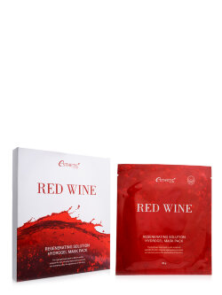Маска для лица Esthetic House Red Wine Regenerating Solution Hydrogel Mask Pack