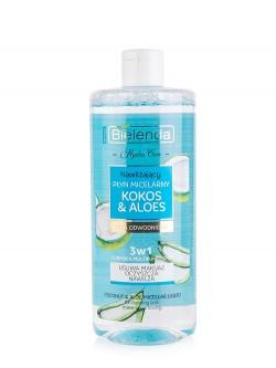 Мицеллярная вода Bielenda Hydra Care Кокос & Алоэ