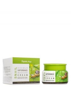 Крем для лица FarmStay Snail Visible Difference Moisture Cream