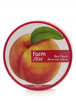Крем для лица и тела FarmStay Real Peach All-In-One Cream