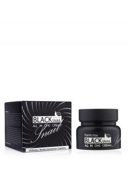 Крем для лица FarmStay Black Snail All In One