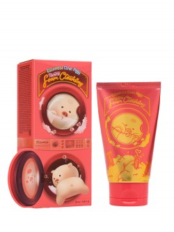 Пенка для умывания Elizavecca Clean Piggy Pink Energy Foam Cleansing